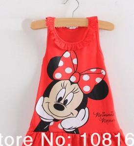 Vestido infantil  Minie 1png